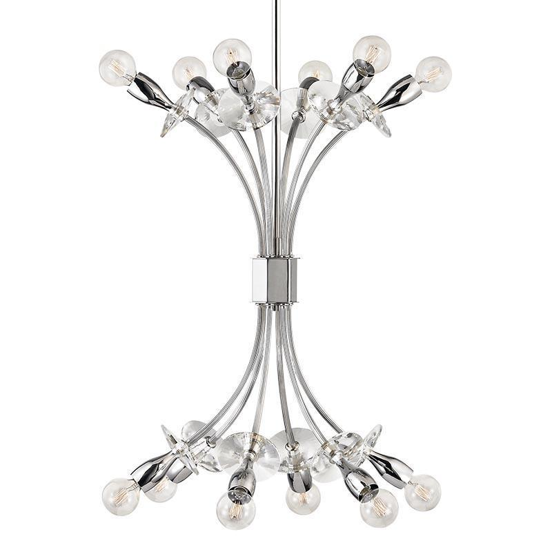 Hudson Valley Alexandria 12 Light Chandelier Model: 2712-AGB