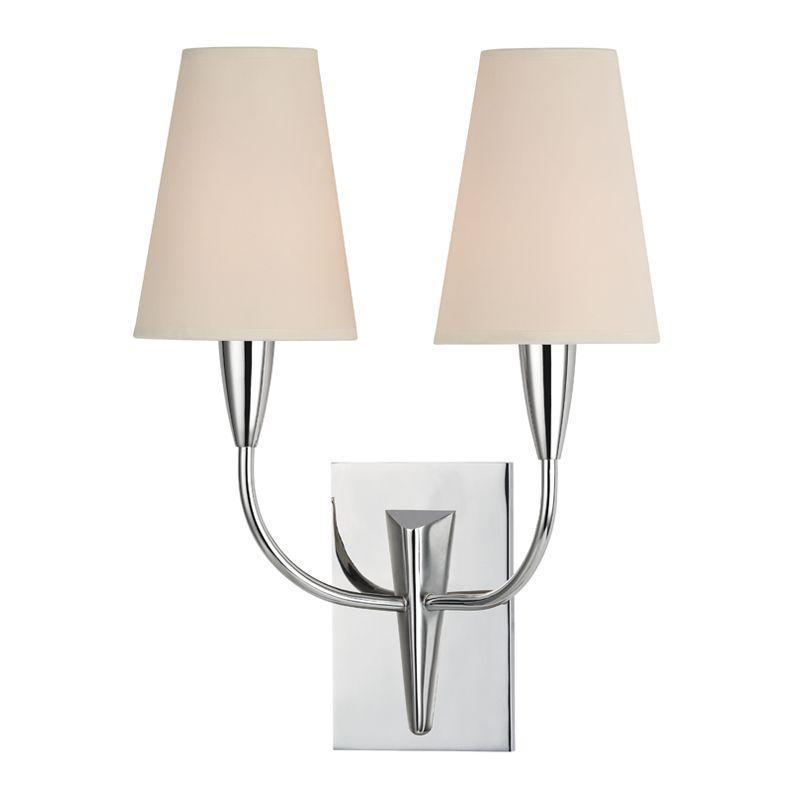 Hudson Valley Berkley 2 Light Wall Sconce Model: 2412-PC
