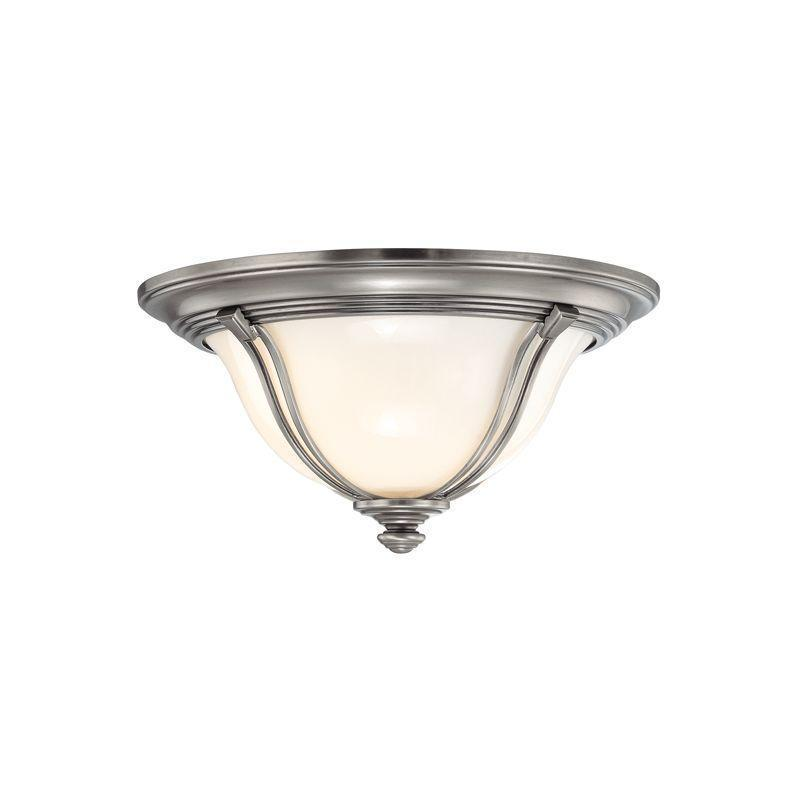 Hudson Valley Carrollton 1 Light Flush Mount Model: 5411-AN