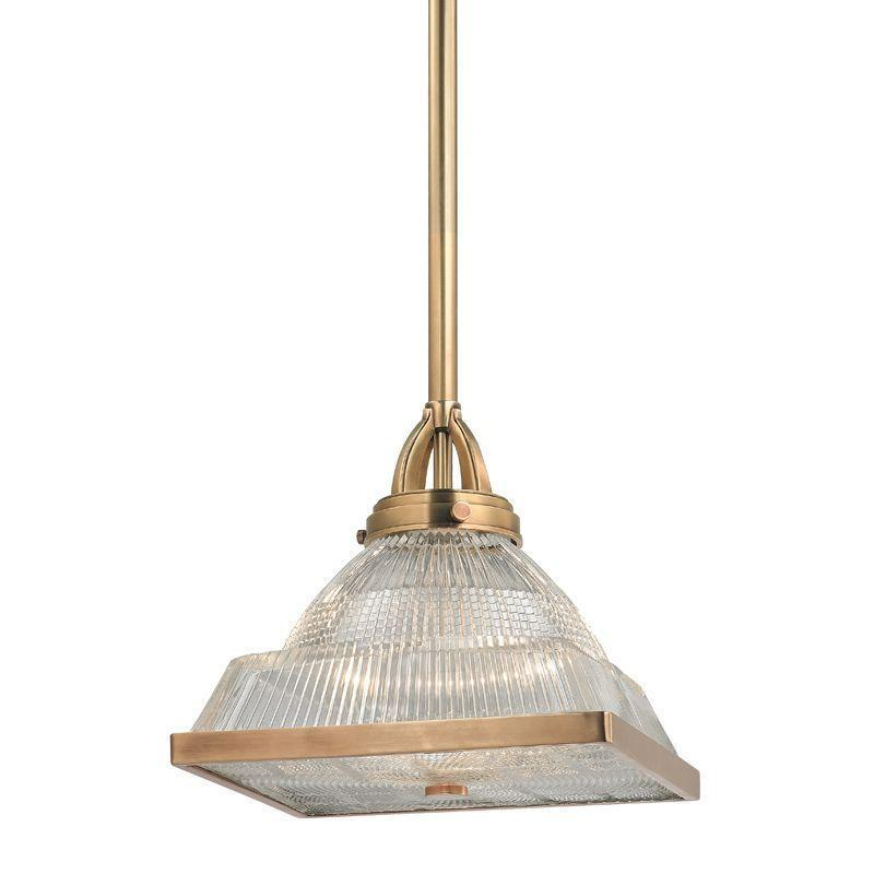 Hudson Valley Harriman 1 Light Pendant Model: 4411-AGB