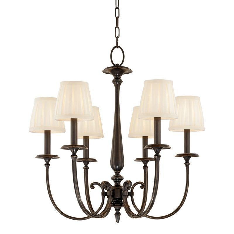 Hudson Valley Jefferson 6 Light Chandelier Model: 5216-AN