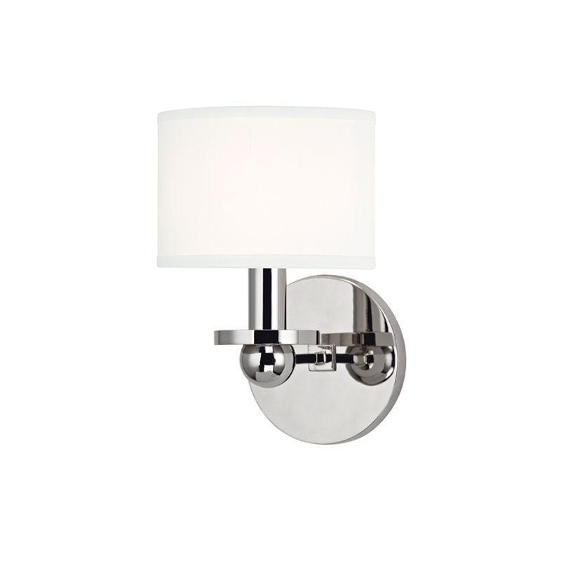 Hudson Valley Kirkwood 1 Light Wall Sconce Model: 1511-AGB-WS