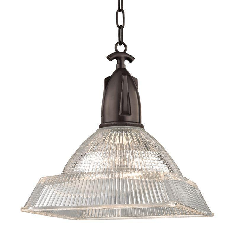 Hudson Valley Langdon 1 Light Large Pendant Model: 7114-AGB