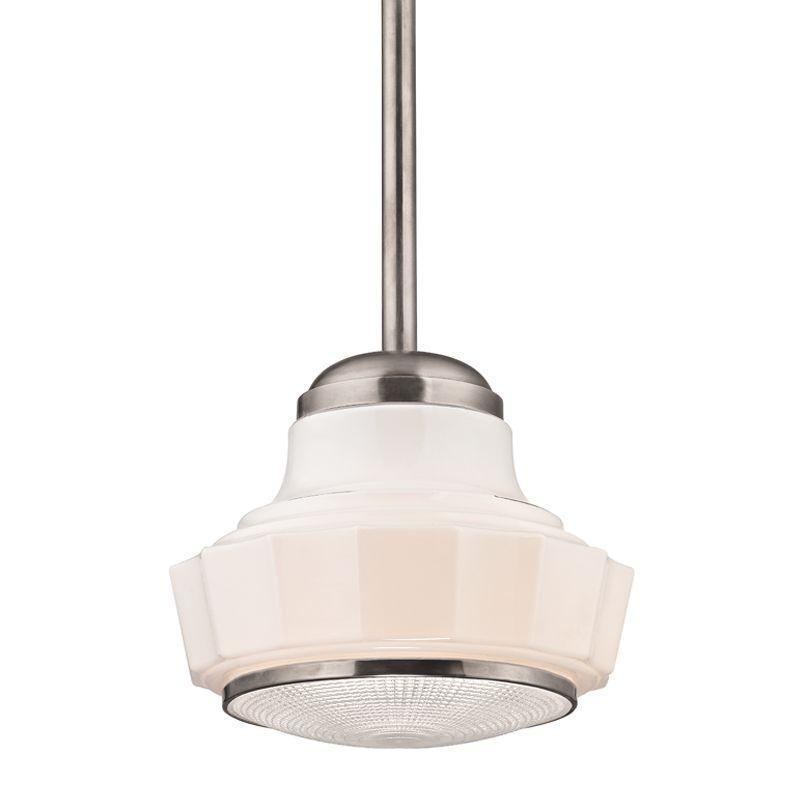 Hudson Valley Odessa 1 Light Pendant Model: 3809-AGB