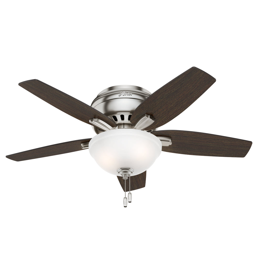 Hunter Newsome Low Profile Fan With Light 42 Inch Model: 51082