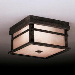 Kichler Cross Creek 2 Light Outdoor Ceiling Model: 9830AGZ