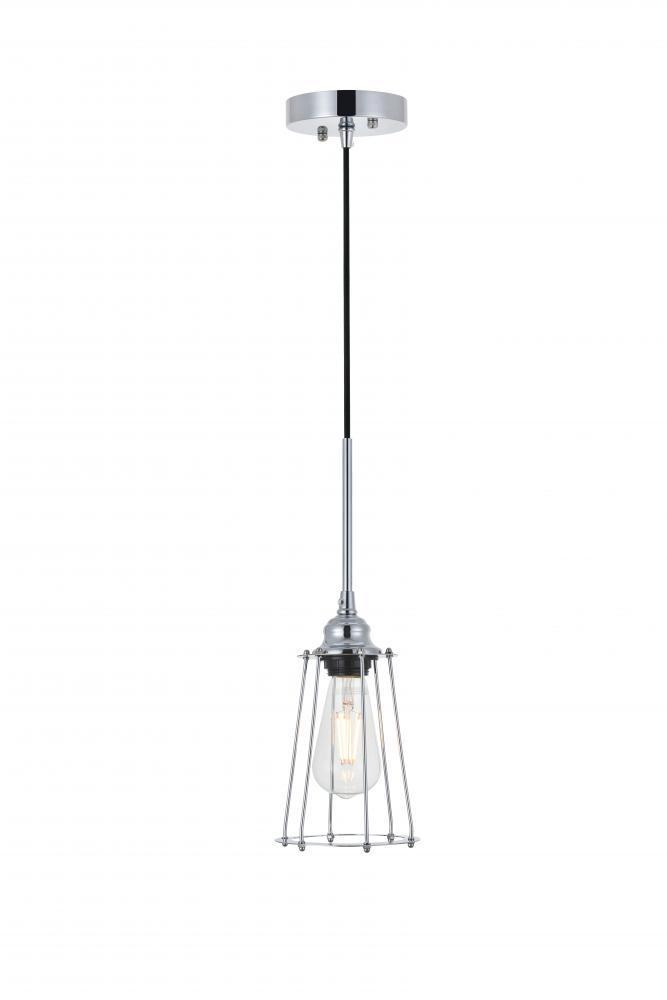 Living District Auspice 1 Light Pendant Model: LD4047D5BRB