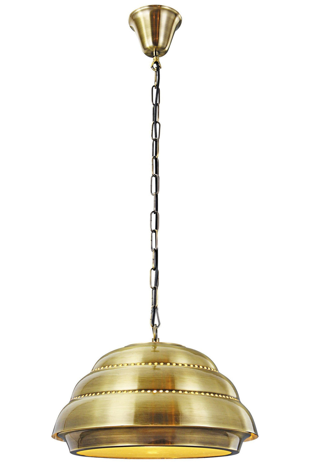 PD1237 Elegant Lighting Industrial 1 Light Pendant Chandelier