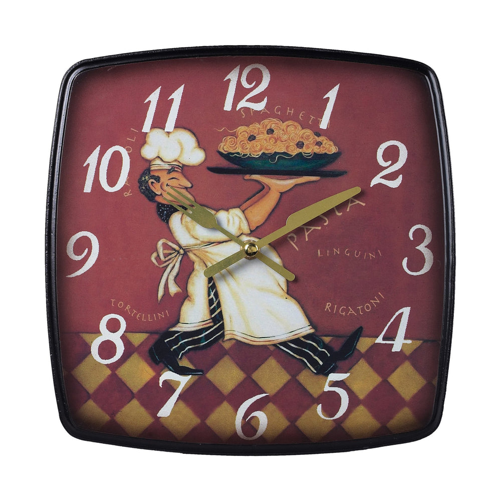 Sterling 118-0101 Busy Chef Clock