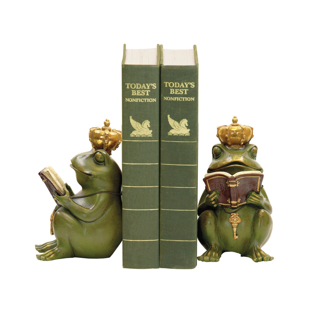 Sterling 7-81889 Pair Superior Frog Gatekeeper Bookends