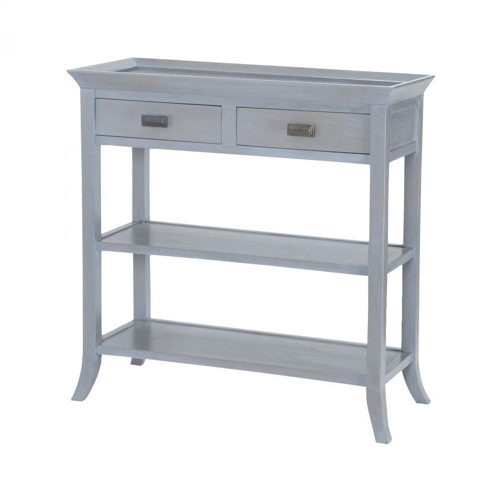 Sterling 7011-311 Tamara Console Table In Gravesend Grey