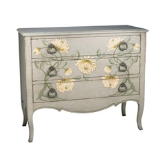 Sterling 88-3184 Mum Chest In Cream Peony And Grey