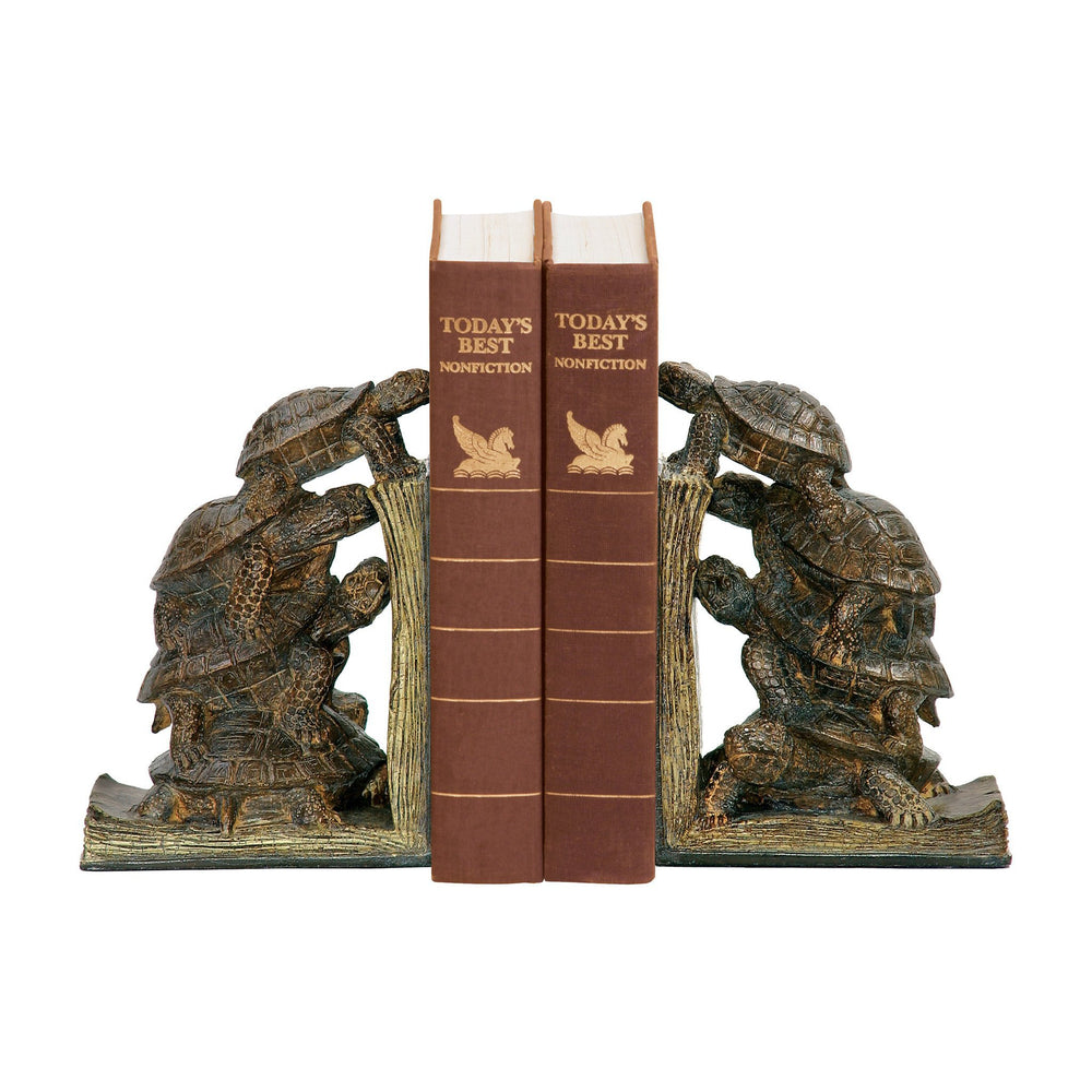 Sterling 91-19380 Pair Turtle Tower Bookends
