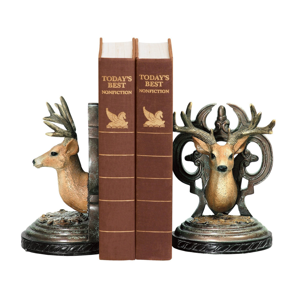 Sterling 91-20359 Pair Deer Head Bookends