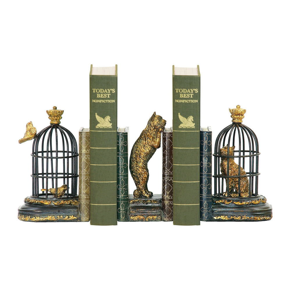 Sterling 91-23266 Set Trading Places Bookends