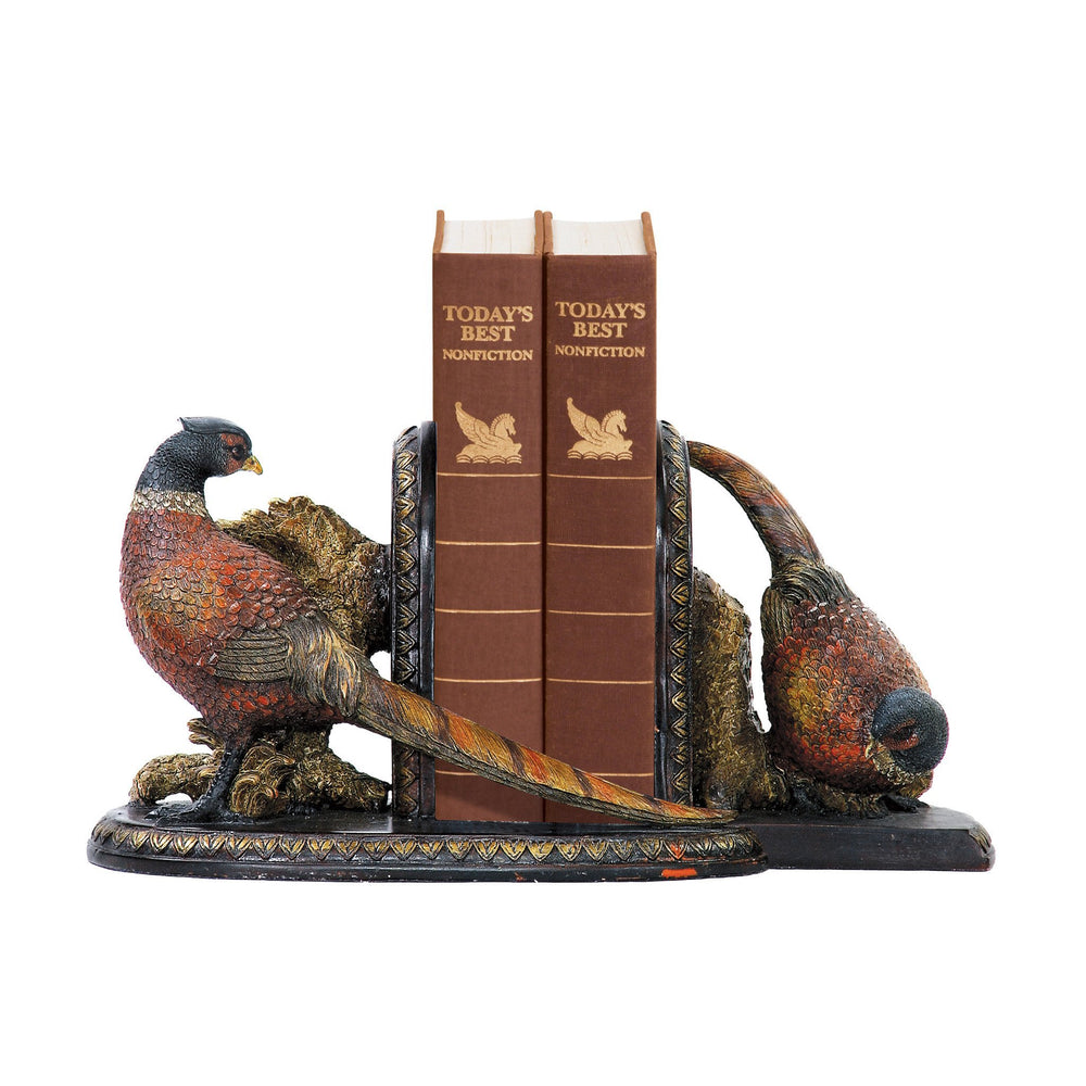 Sterling 91-37220 Pair Of Autumn Pheasants Bookends