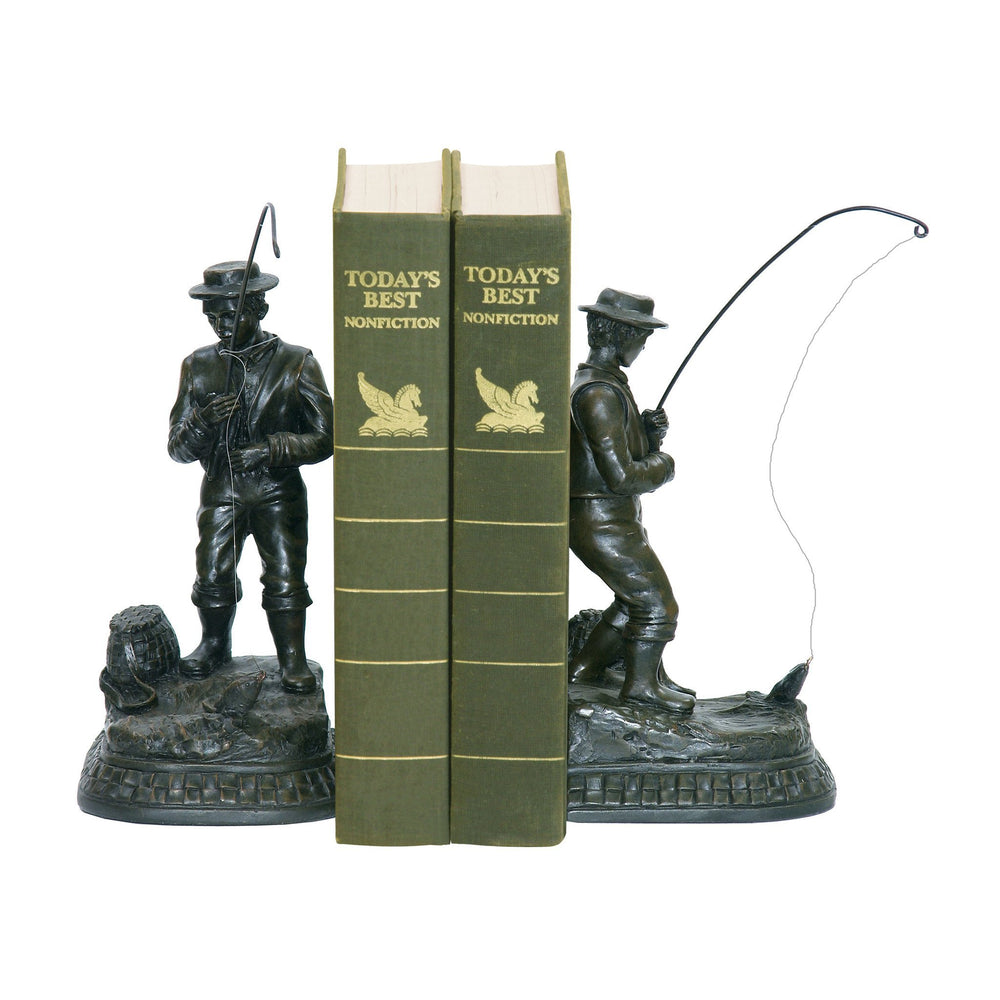 Sterling 93-33290 Pair Fish On Line Bookend