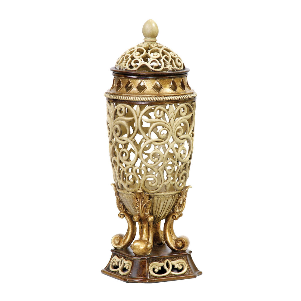 Sterling 93-44362 Sculpted Ornate Urn