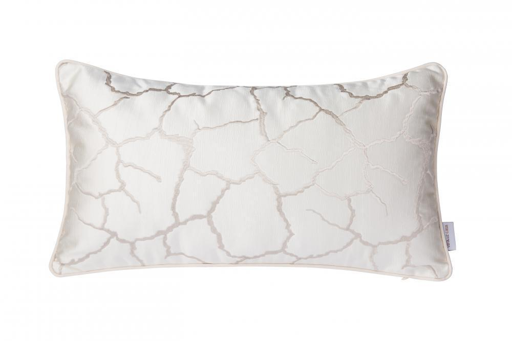 Varaluz Casa White Crackle Lumbar Pillow (case Only) Model: 4DPI0405