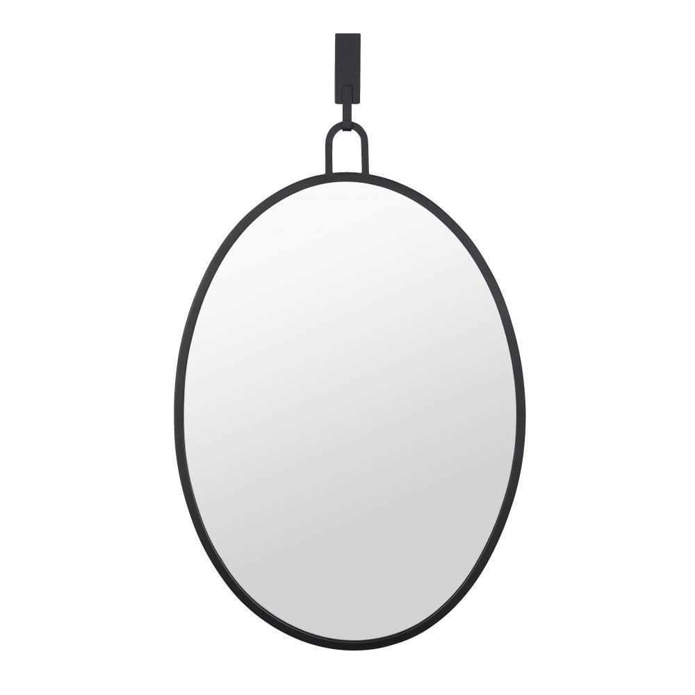 Varaluz Stopwatch 22x30 Oval Powder Room Mirror Model: 4DMI0110