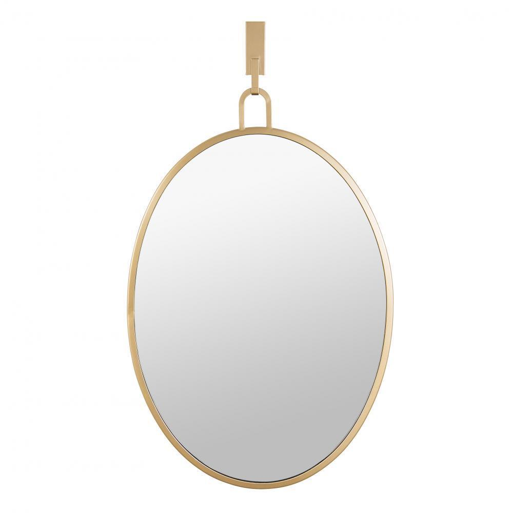 Varaluz Stopwatch 22x30 Oval Powder Room Mirror Model: 4DMI0111