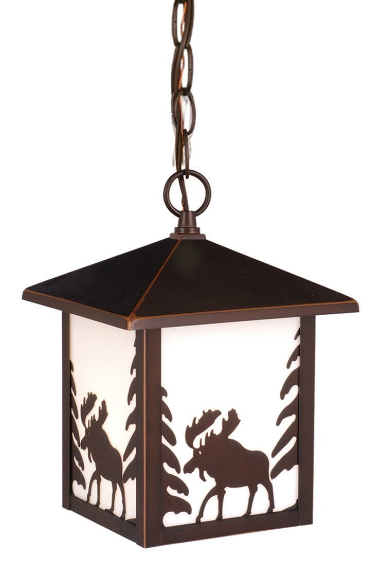 Vaxcel Addison Yellowstone 8 Inch Outdoor Pendant Model: OD36986BBZ