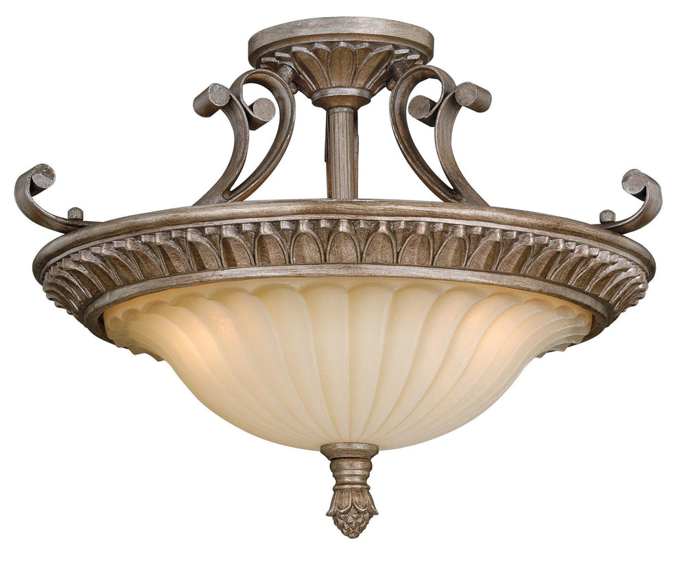 Vaxcel Avenant 18 Inch Semi-flush Mount Model: C0080