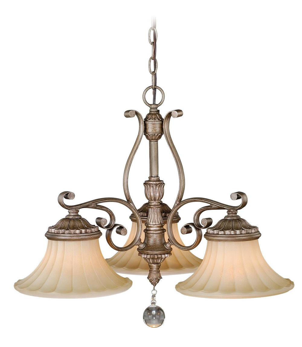Vaxcel Avenant 3 Light Kitchen Chandelier Model: H0140