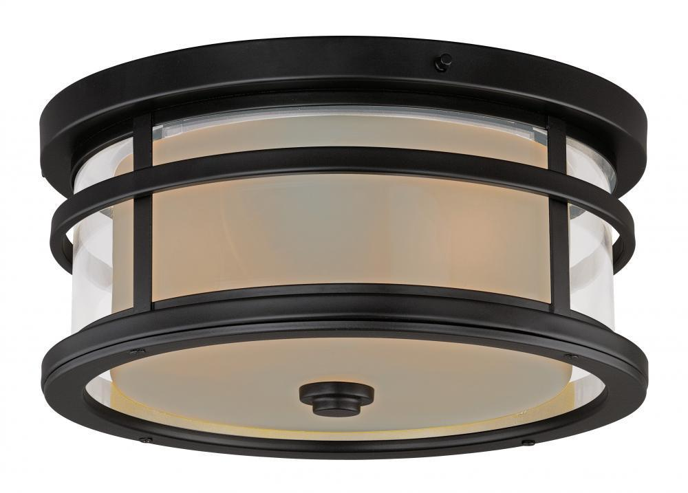 Vaxcel Cadiz 12 Inch Outdoor Flush Mount Model: T0090