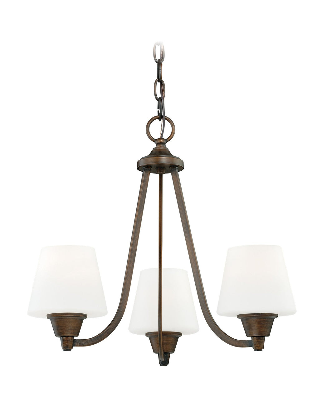 Vaxcel Calais 3 Light Mini Chandelier Model: H0101