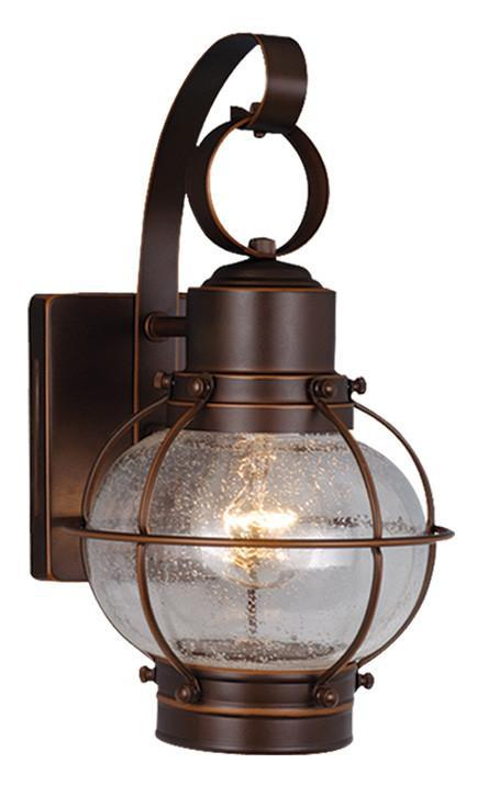 Vaxcel Chatham 7 Inch Outdoor Wall Light Model: OW21861BBZ