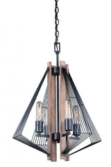 Vaxcel Dearborn 4 Light Mini Chandelier Model: H0181