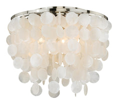 Vaxcel Elsa Capiz Shell 16 Inch Flush Mount Model: C0079