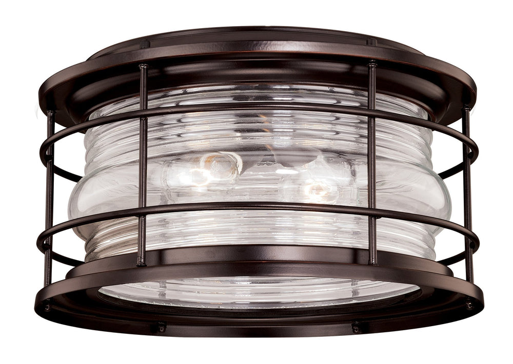 Vaxcel Hyannis 12-5/8 Inch Outdoor Flush Mount Model: T0166