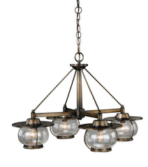 Vaxcel Jamestown 4 Light Chandelier Model: H0007