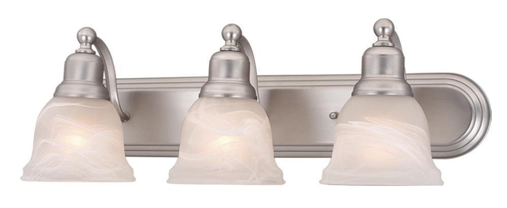 Vaxcel Lasalle 3 Light Vanity Model: LS-VLD103BN