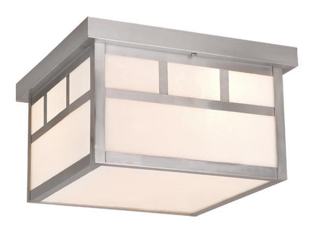 Vaxcel Mission 12 Inch Outdoor Ceiling Light Model: OF14611ST