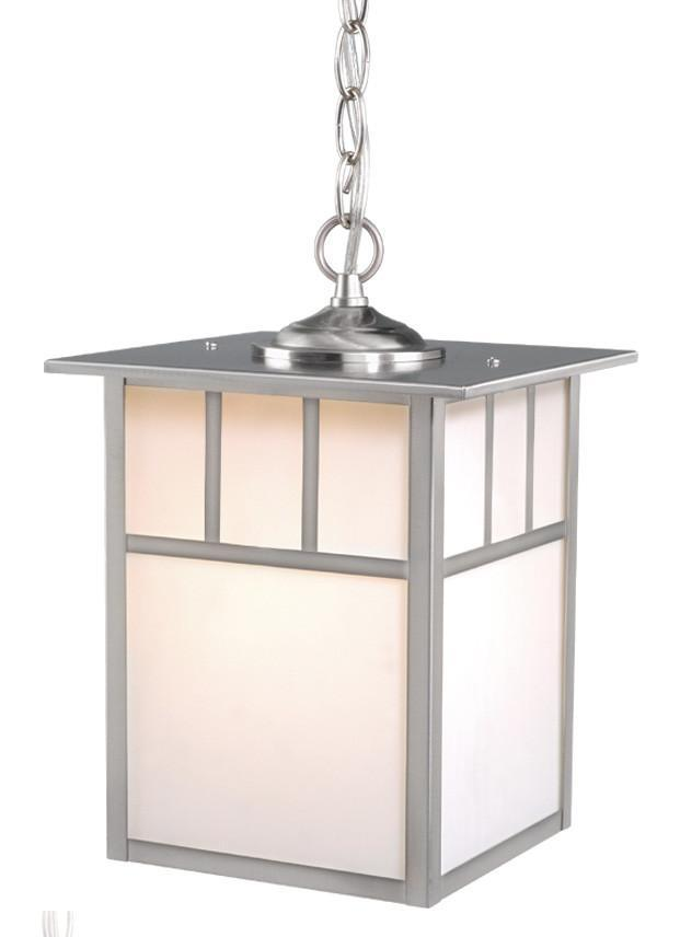 Vaxcel Mission 9 Inch Outdoor Pendant Model: OD14696ST