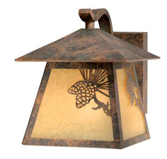 Vaxcel Whitebark 7 Inch Outdoor Wall Light Model: OW50573OA