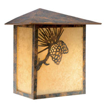 Vaxcel Whitebark 9 Inch Outdoor Wall Light Model: OW50518OA