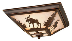 Vaxcel Yellowstone 14 Inch Flush Mount Model: CC55614BBZ