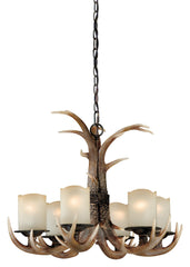 Vaxcel Yoho 6 Light Chandelier Model: H0016