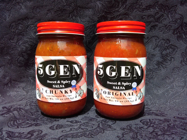 5GEN Sweet & Spicy Salsa - Chunky - 16 oz