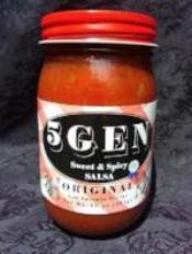 5GEN Sweet & Spicy Salsa - Original - 16 oz
