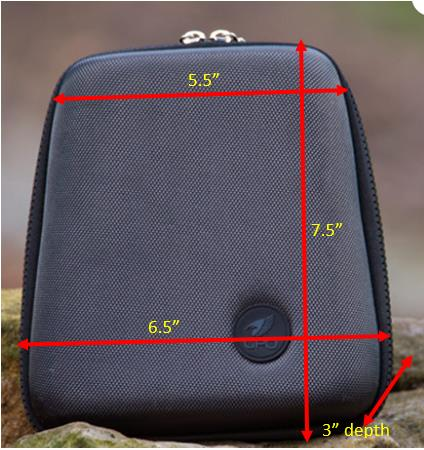 GPO Custom Molded Hard Case for 42mm & 50mm Binoculars