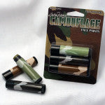 Woodland Camo Face Paint - 3 Sticks - by Bloody Mary