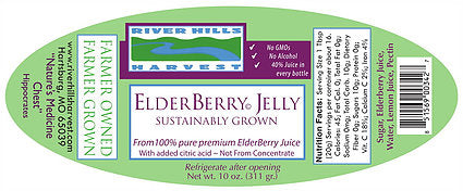 River Hills Harvest Elderberry Jelly