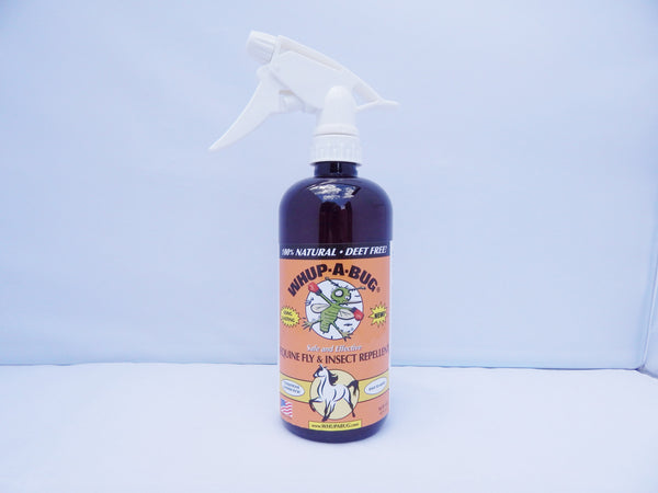 Whup-A-Bug — Equine Fly & Bug Spray Bottle (16 oz, 32 oz)