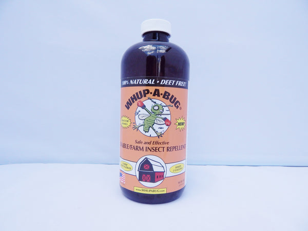 Whup-A-Bug — Farm/Stable/Kennel Concentrate Bug Repellant 16 oz