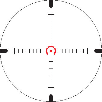 GPOTAC 6X 1-6x24i, reticle – Horseshoe HS(I) CQB